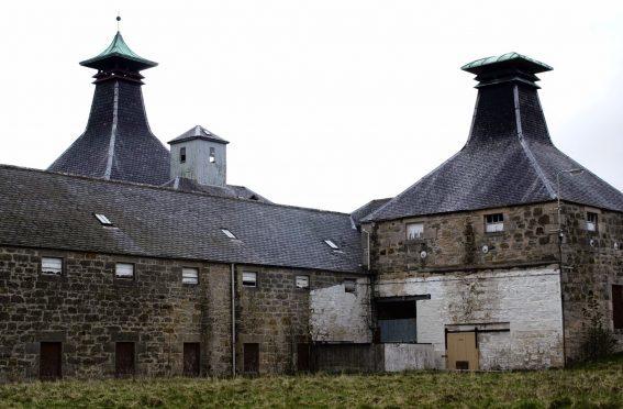 Coleburn Distillery.