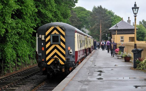 The Royal Deeside Railway is a popular tourist attraction