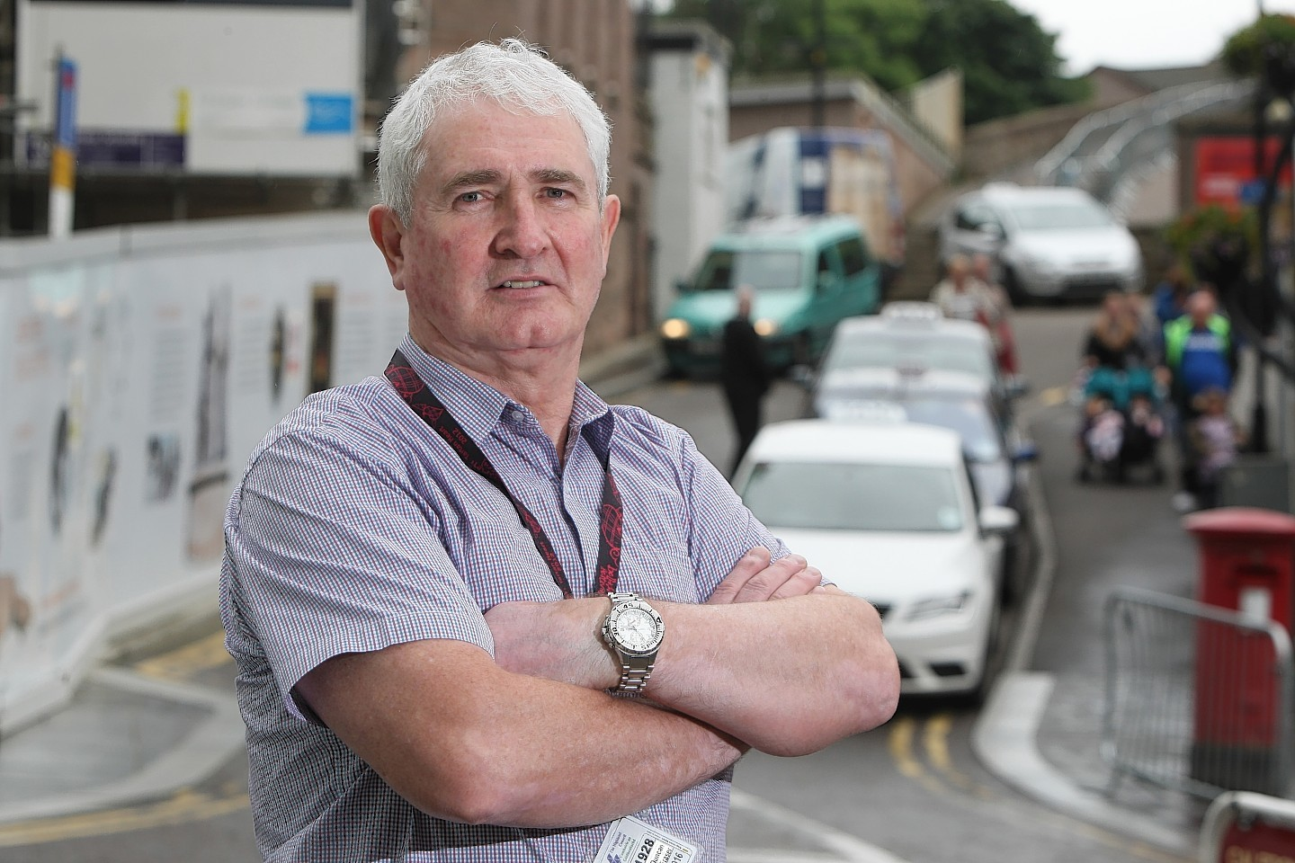 Duncan Fraser, vice-chairman of Inverness Taxi Alliance