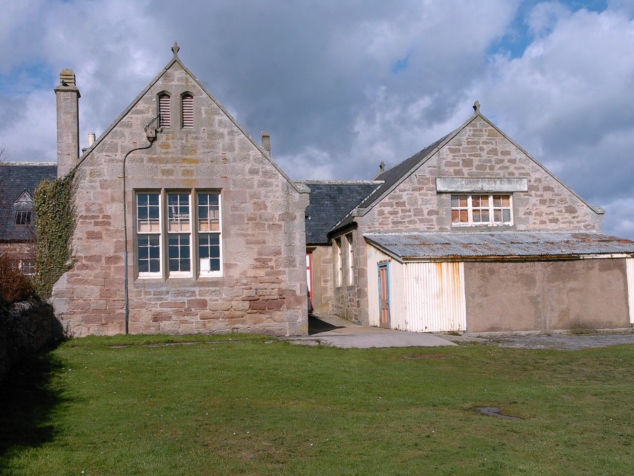 Embo Old School which is to be converted into a £1.3million community centre