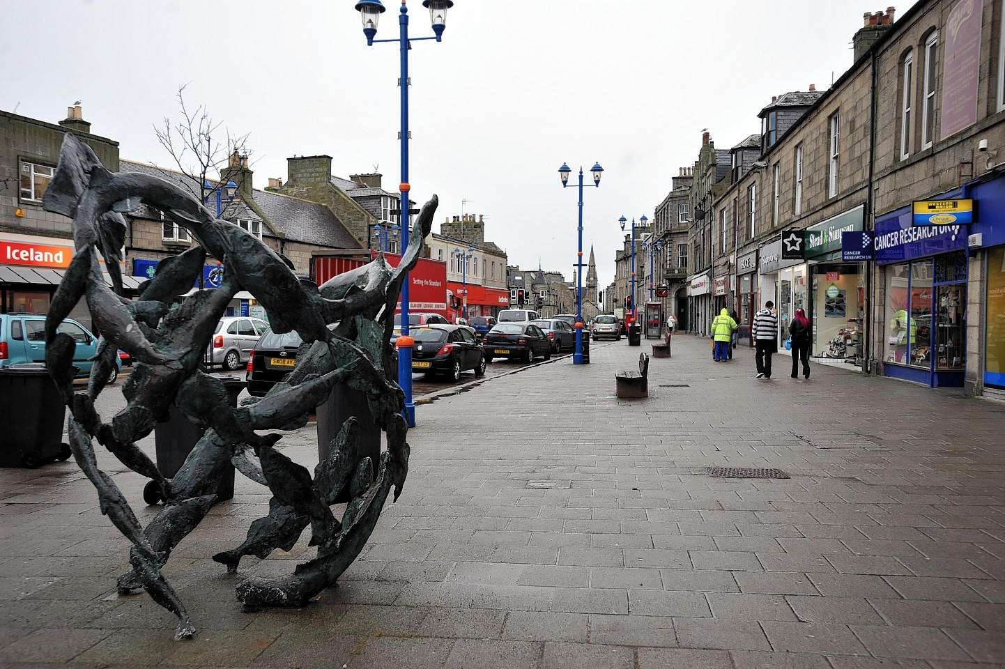 A deep clean of Fraserburgh's streets has been completed.