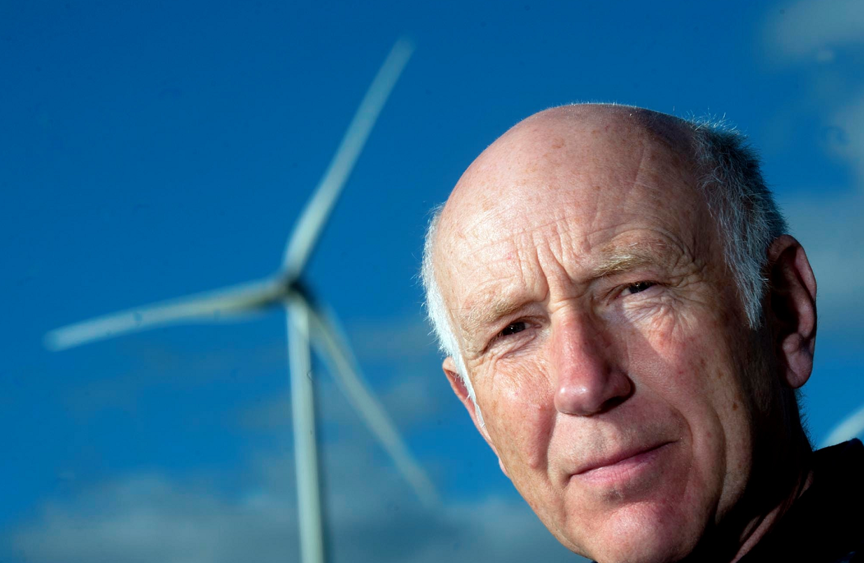 George Herraghty of Lhanbryde, near Elgin, has concerns about the effects wind turbines are having on wildlife in Scotland.