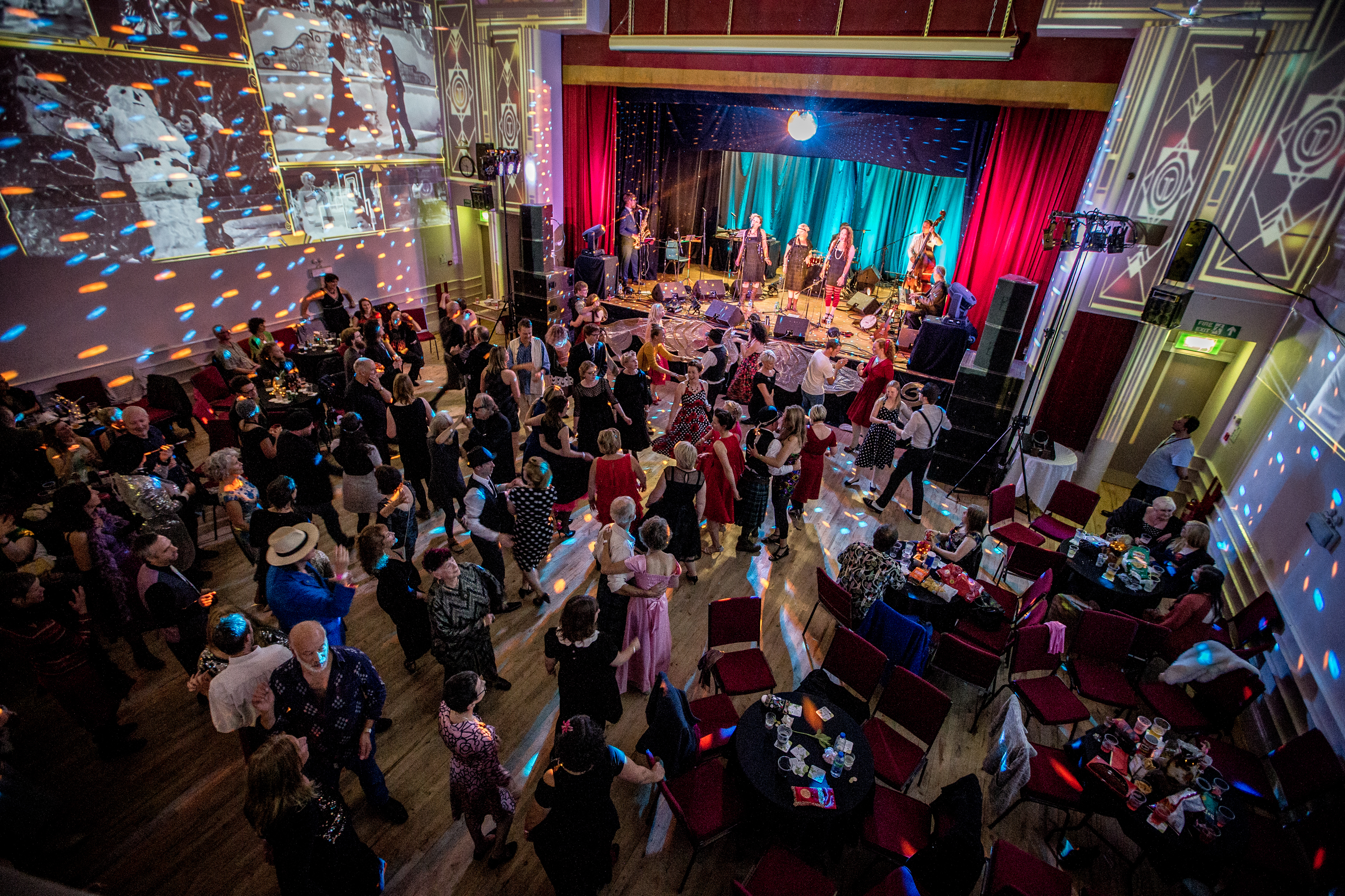 Glitter and Sparkle Festival Ball at Forres Town Hall.