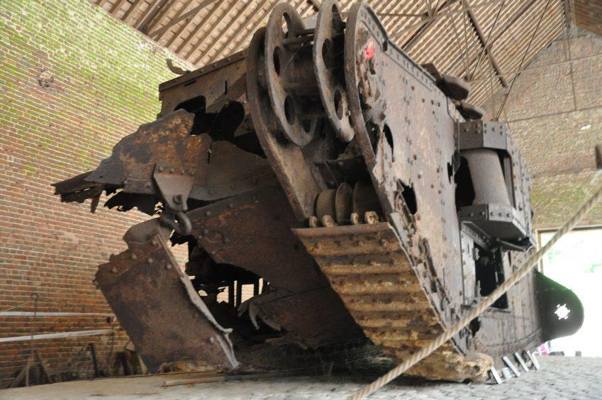 WWI tank Deborah.