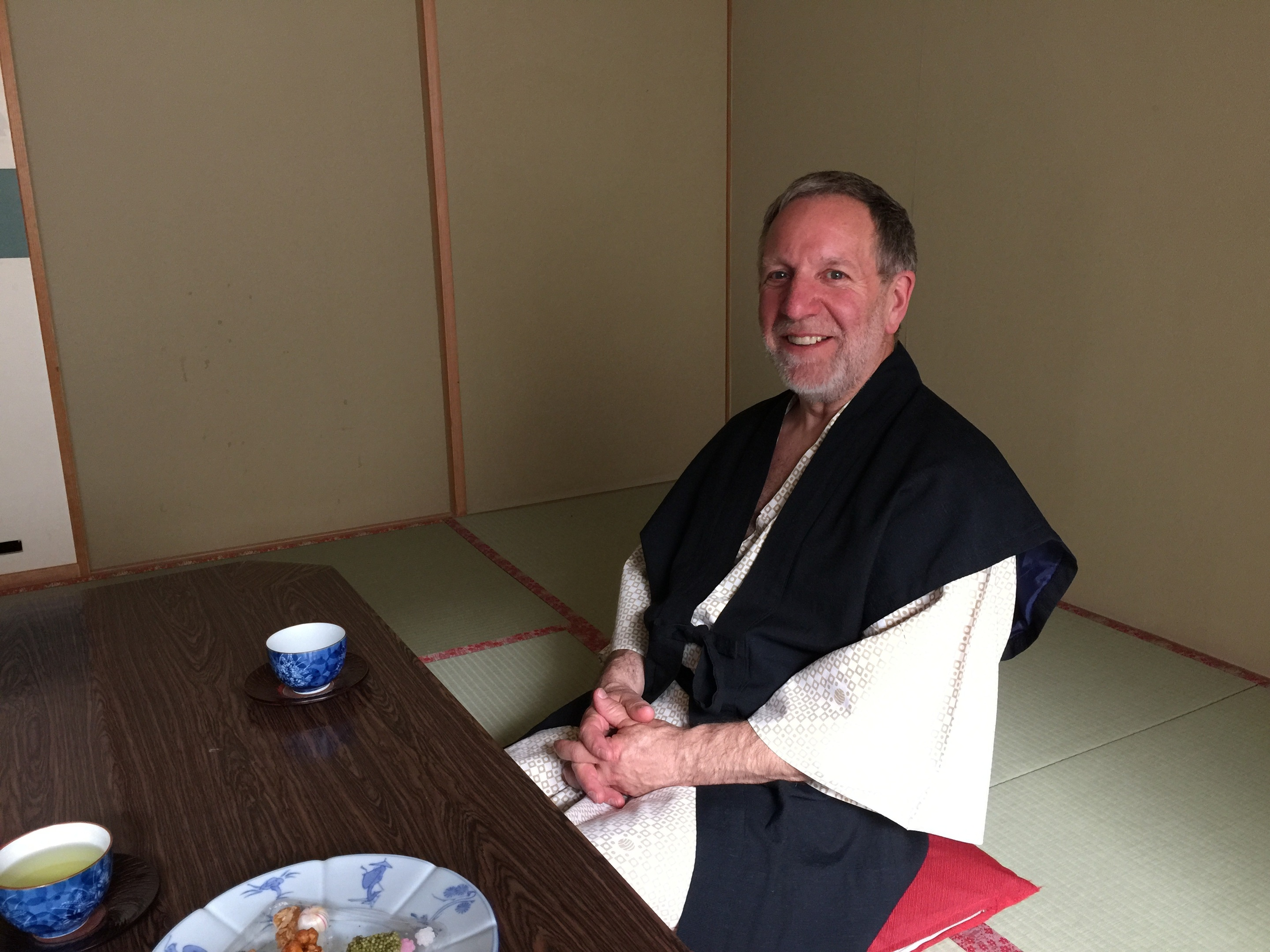 Brian Weaver of HISEZ, during a visit to Japan.