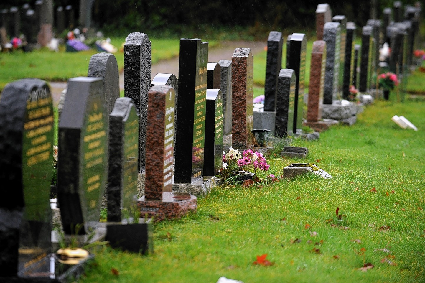 Turriff Cemetery has been cleaned after a group
