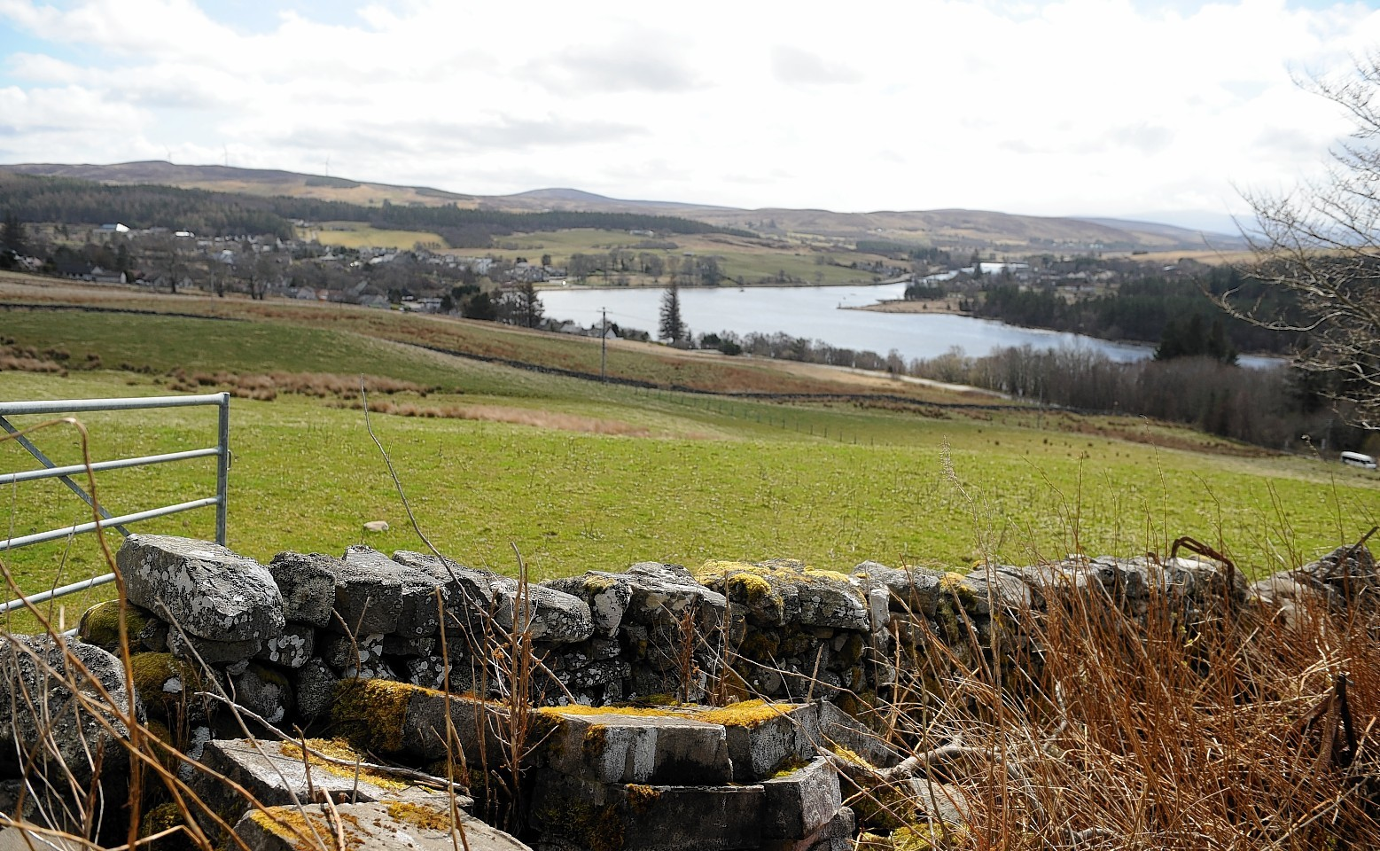 The peaceful landscape in Lairg could have been hiding an amazing secret for more than a billion years
