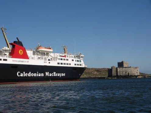 The MV Isle of Lewis has been stuck at Castlebay Harbour causing a nuisance to ships trying to enter the Barra harbour