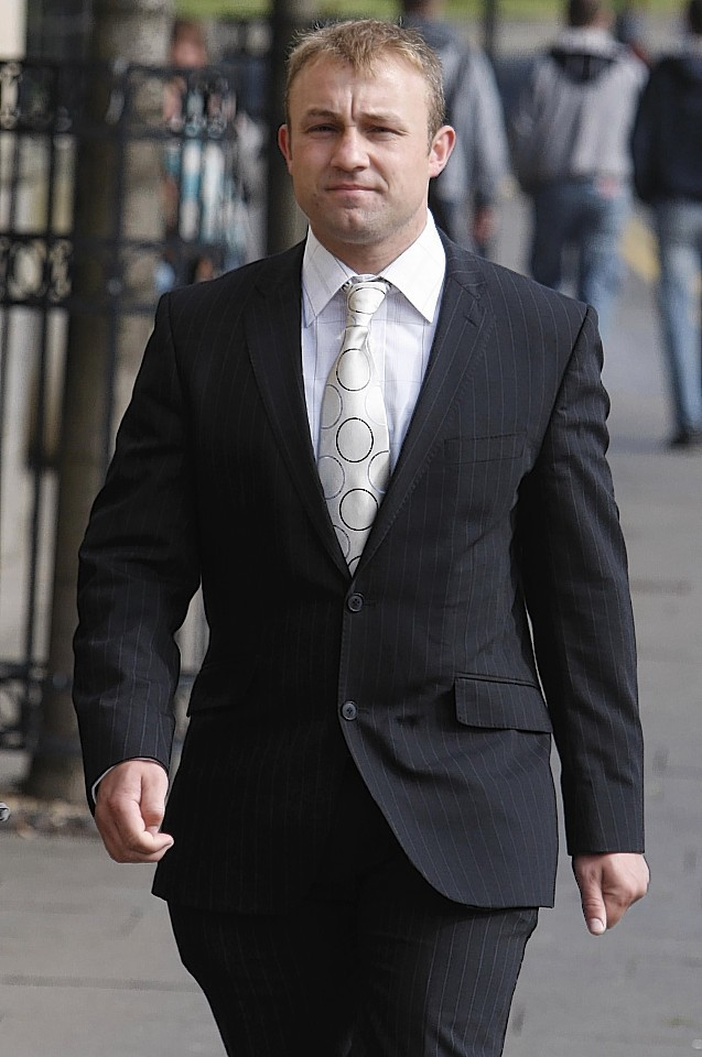 Michael Ross at Glasgow High Court