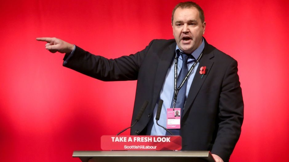 Labour MSP Neil Findlay was among the rebels