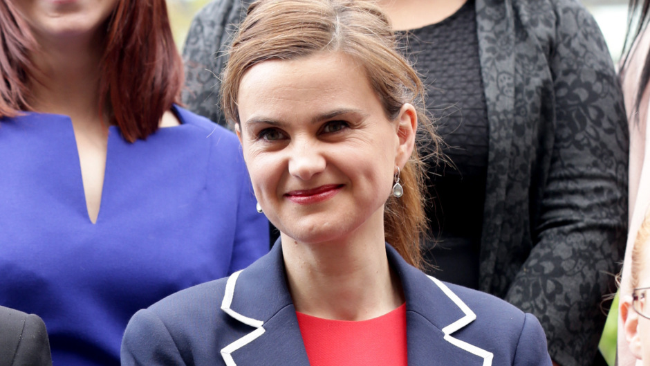 Jo Cox died after being shot and stabbed in June