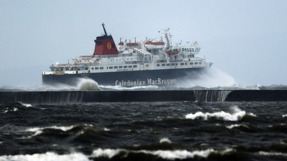 Ferry services are facing disruption