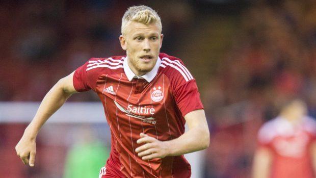 Aberdeen's Jayden Stockley netted the winning goal.