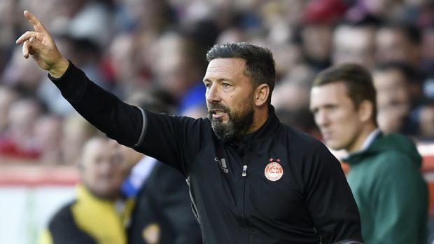 Aberdeen manager Derek McInnes says his side are focused on St Johnstone.