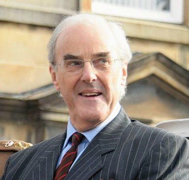 Deputy Lord Lieutenant Richard Sidgwick