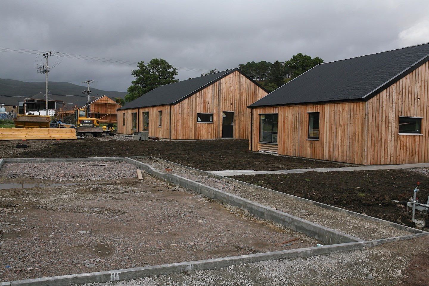 Lochaber Housing Association's new scheme in Strontian