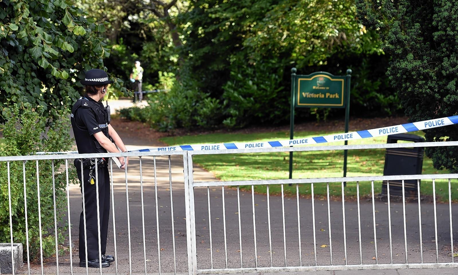 A mans body was found at Victoria Park in Aberdeen.