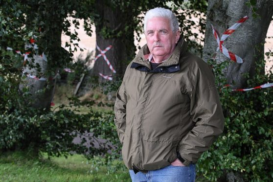 William Aitken has campaigned to save trees on Caulfield Road North