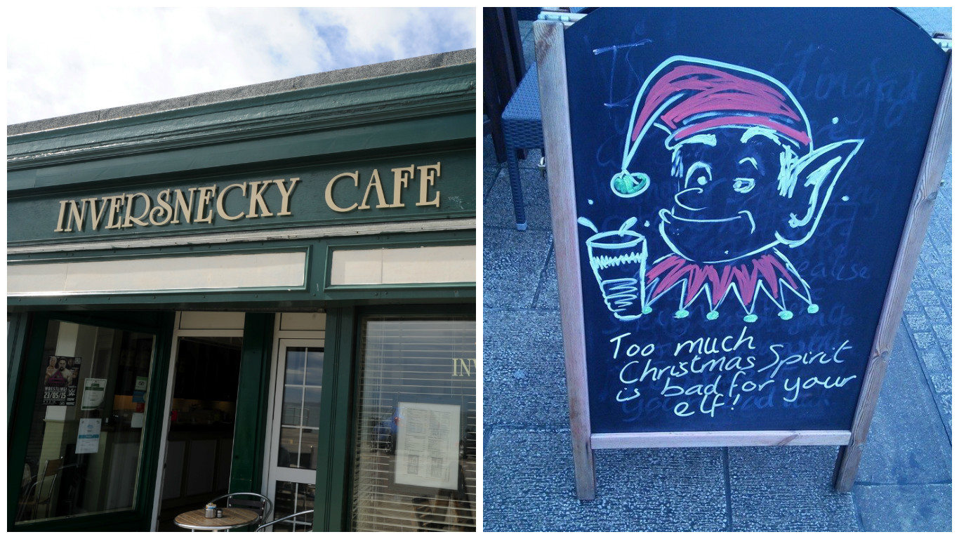 All pics from Facebook/Inversnecky-Cafe