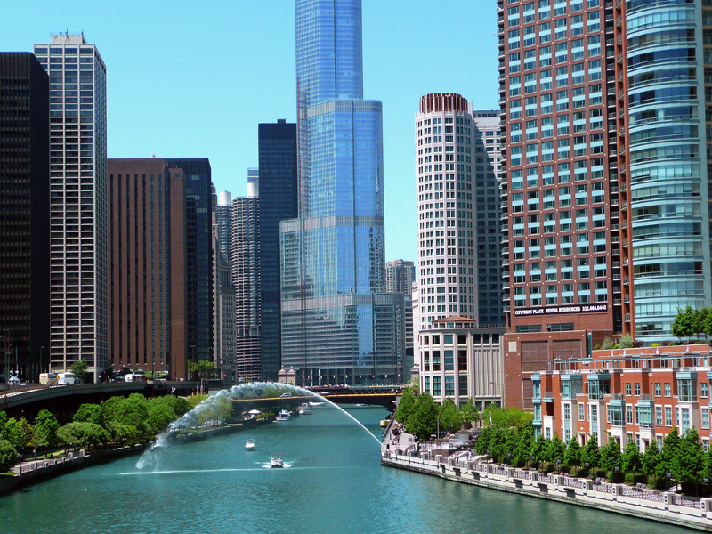 Chicago tour and river cruise