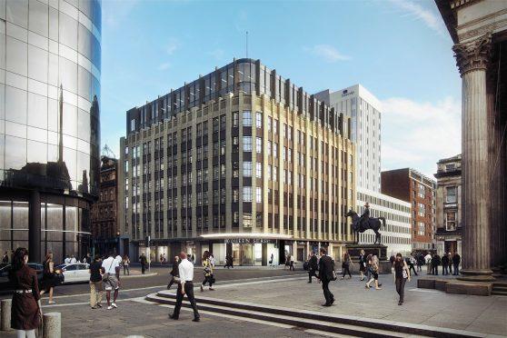 Edrington's new headquarters in Glasgow