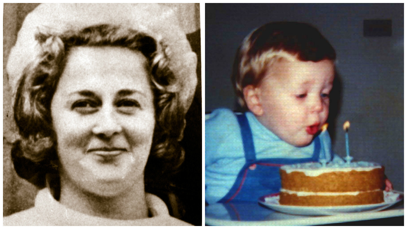Renee MacRae and her son Andrew