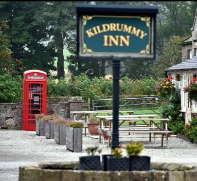 BT have earmarked the phone box at the Kildrummy Inn for removal.