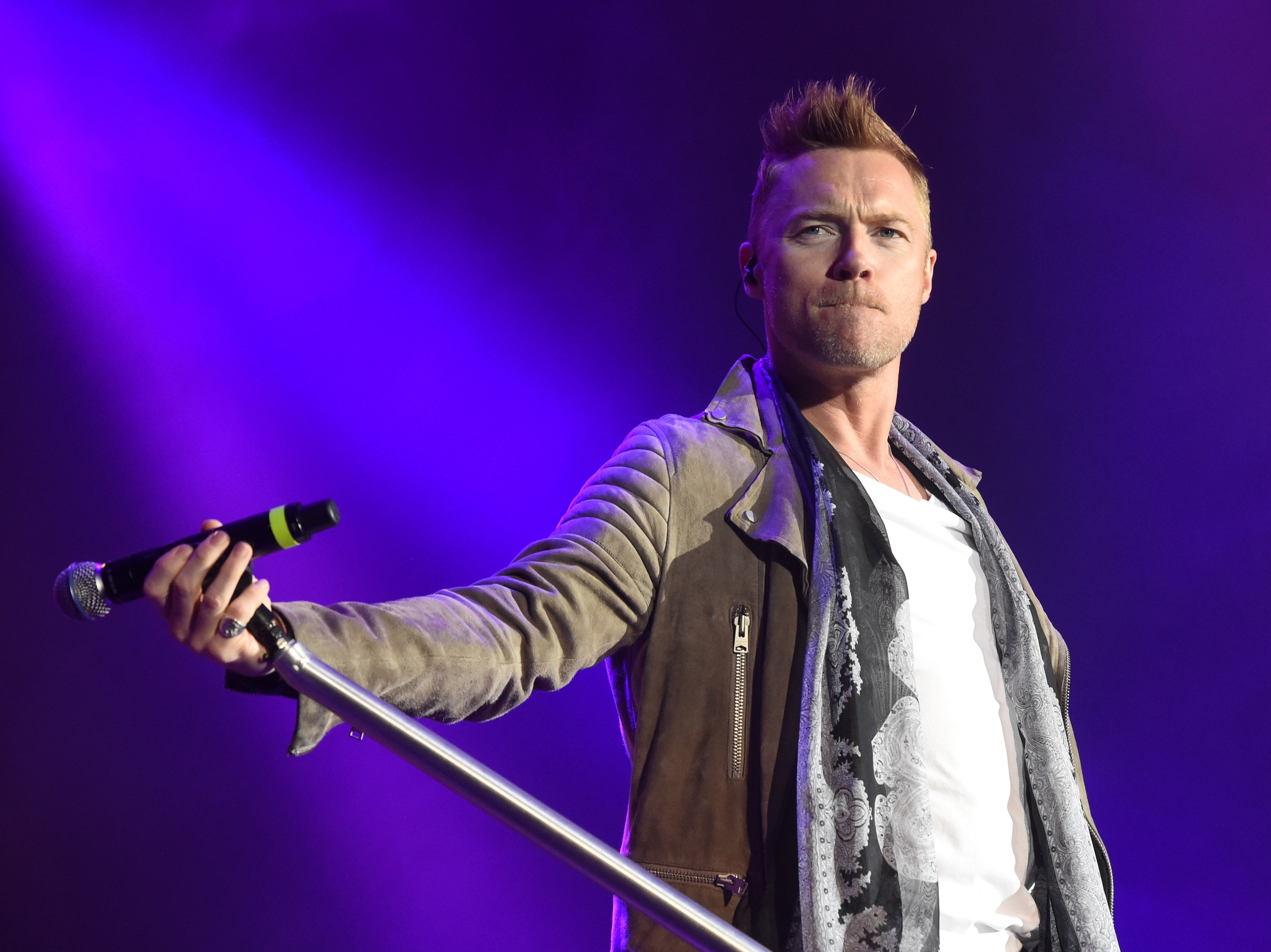Ronan Keating in concert at AECC, Aberdeen. Picture by Jim Irvine