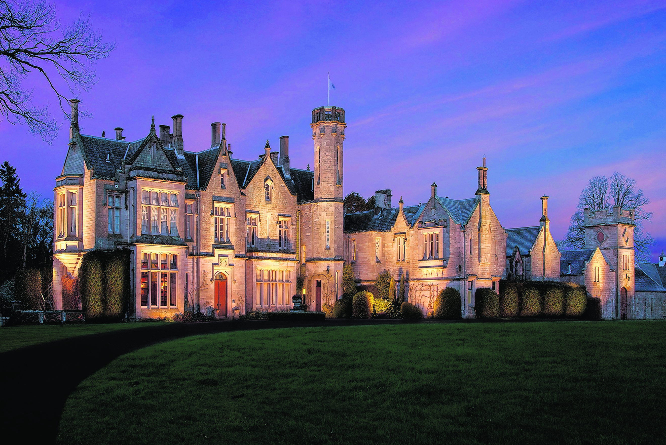 The Roxburghe Hotel and Golf Course  is steeped in history – legend has it Bonnie Prince Charlie spent the night here