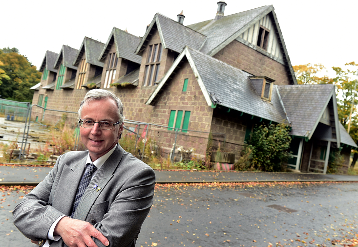 The remaining hospital buildings in the estate are being sold off for redevelopment