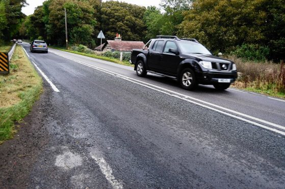 The A90 at Gash will be resurfaced.