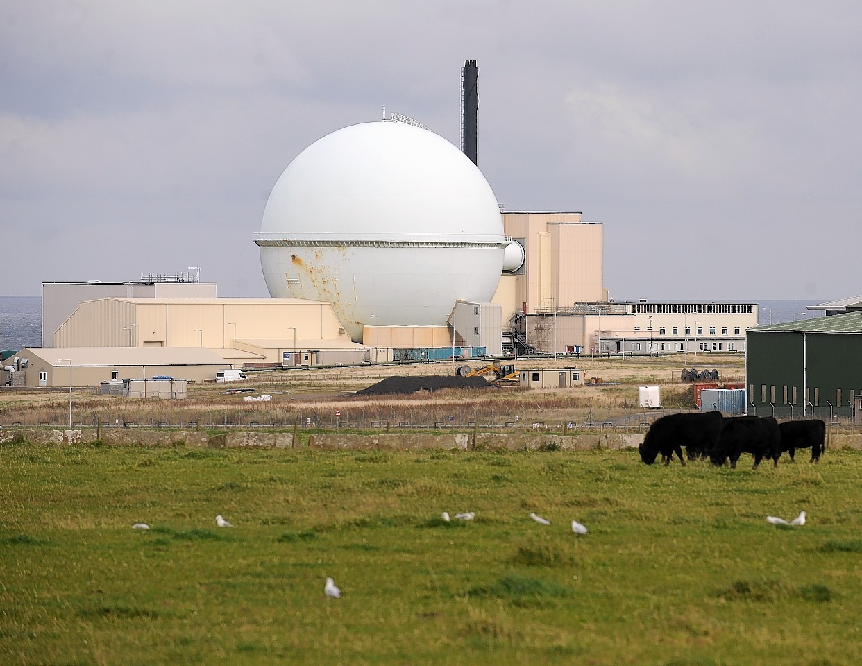 The Dounreay atomic plant.