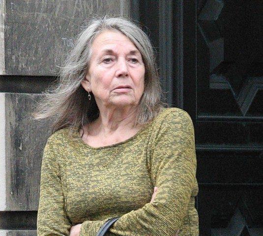 Yvonne Ann Ridley outside court