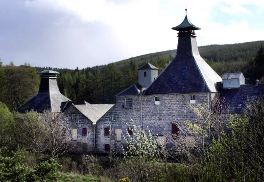 Production stopped at Coleburn Distillery in the 1980s.