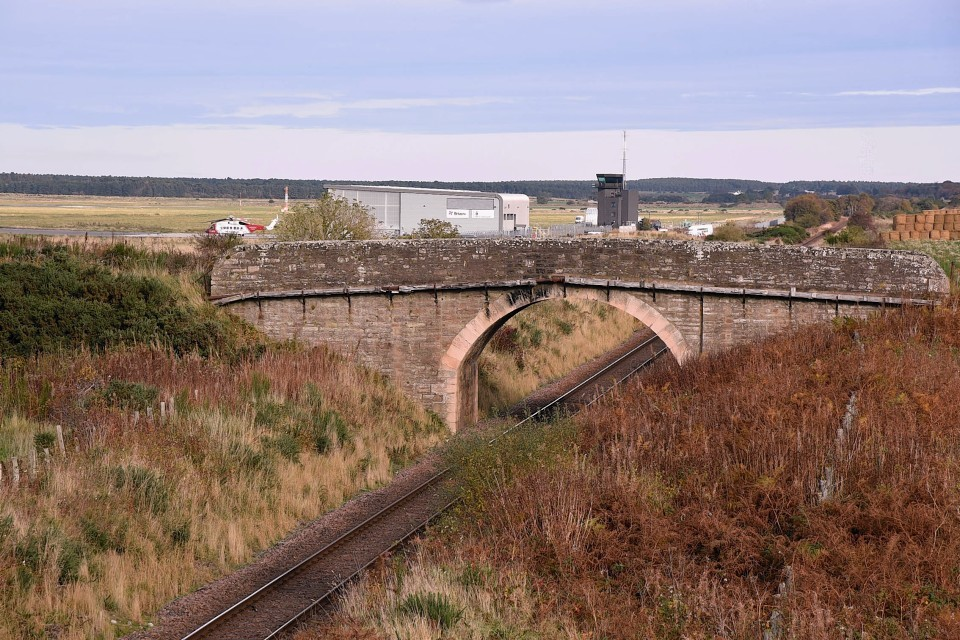 Dalcross Rail Bridge