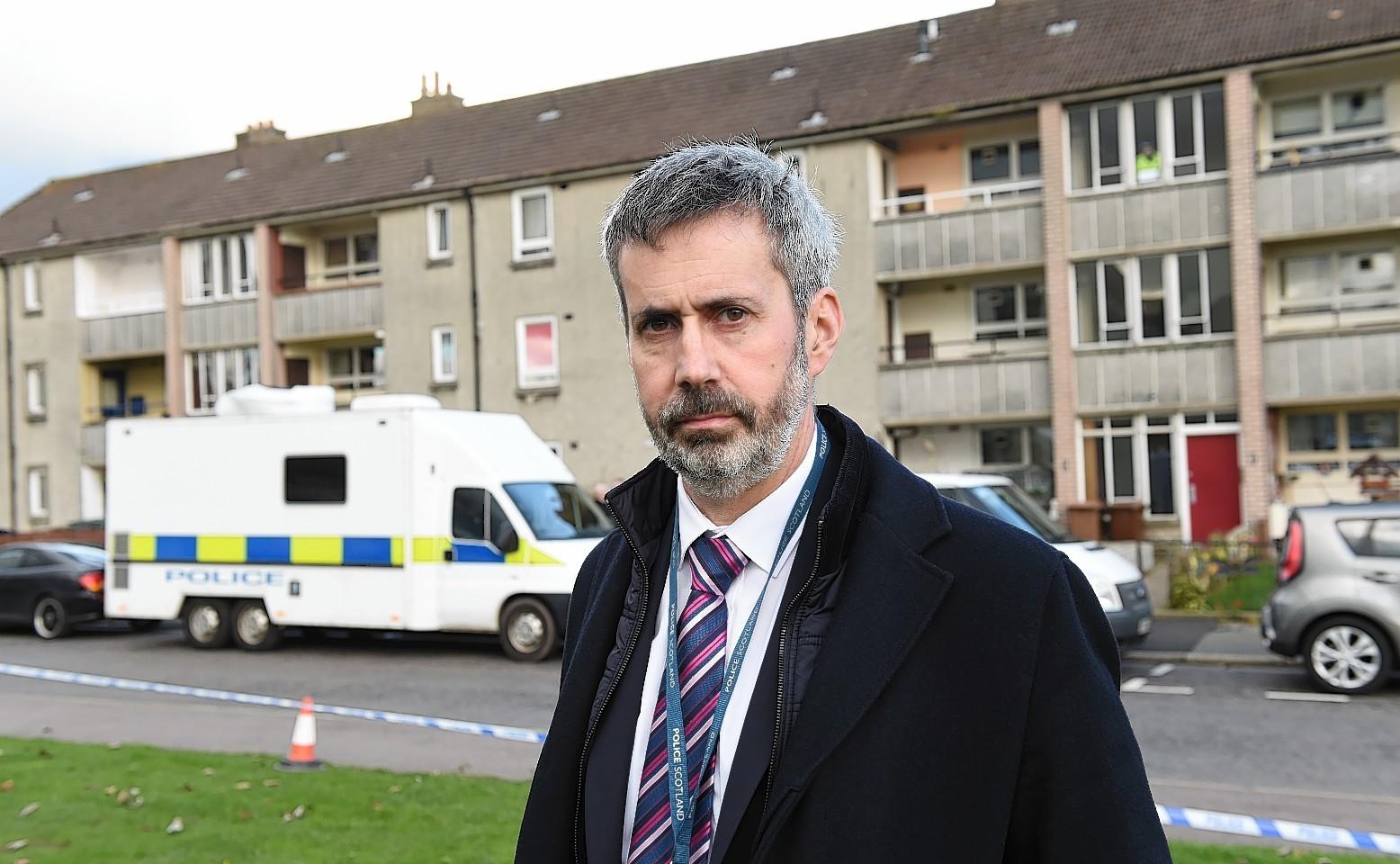 Detective inspector Gary Winter