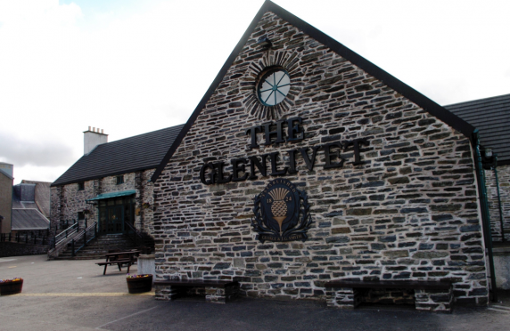 Glenlivet Distillery was founded in 1824.