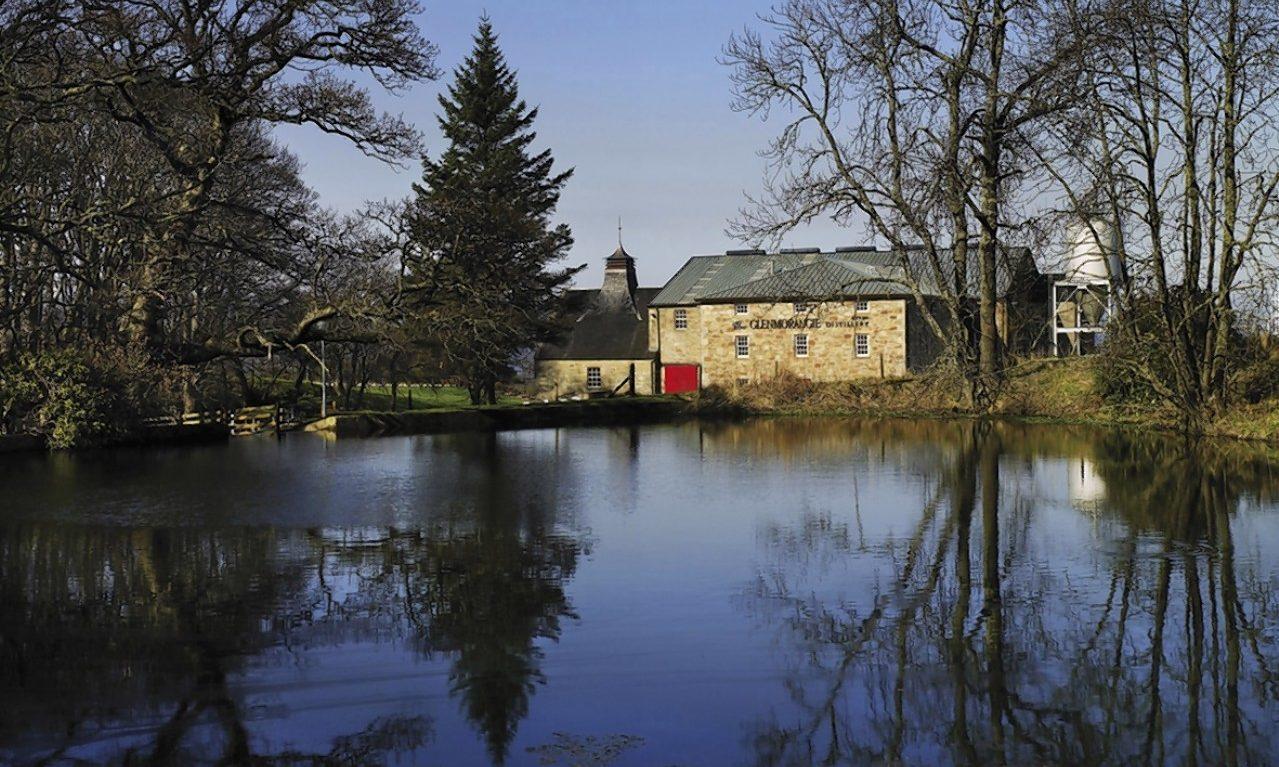 Glenmorangie Distillery in Tain.