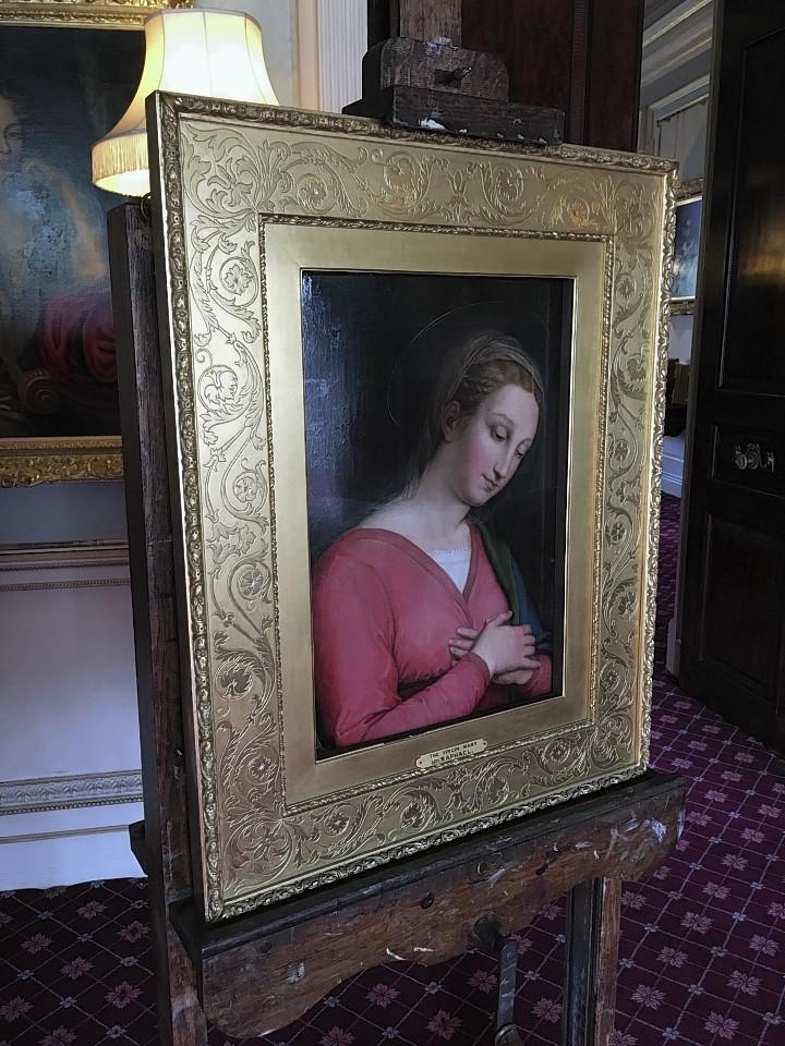 Innocenzo da Imola 1485–1548 The Virgin oil on panel 51.4 x 3