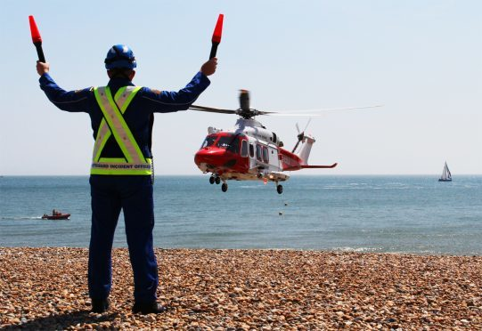 Each time the alarm goes off the Coastguard has to launch teams.