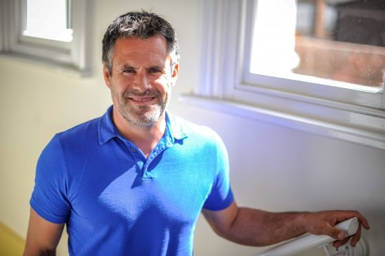 Former Scotland International Rugby player Kenny Logan