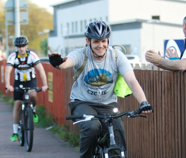 A total of 43 entrants took part in the Cairngorms to Coast challenge.