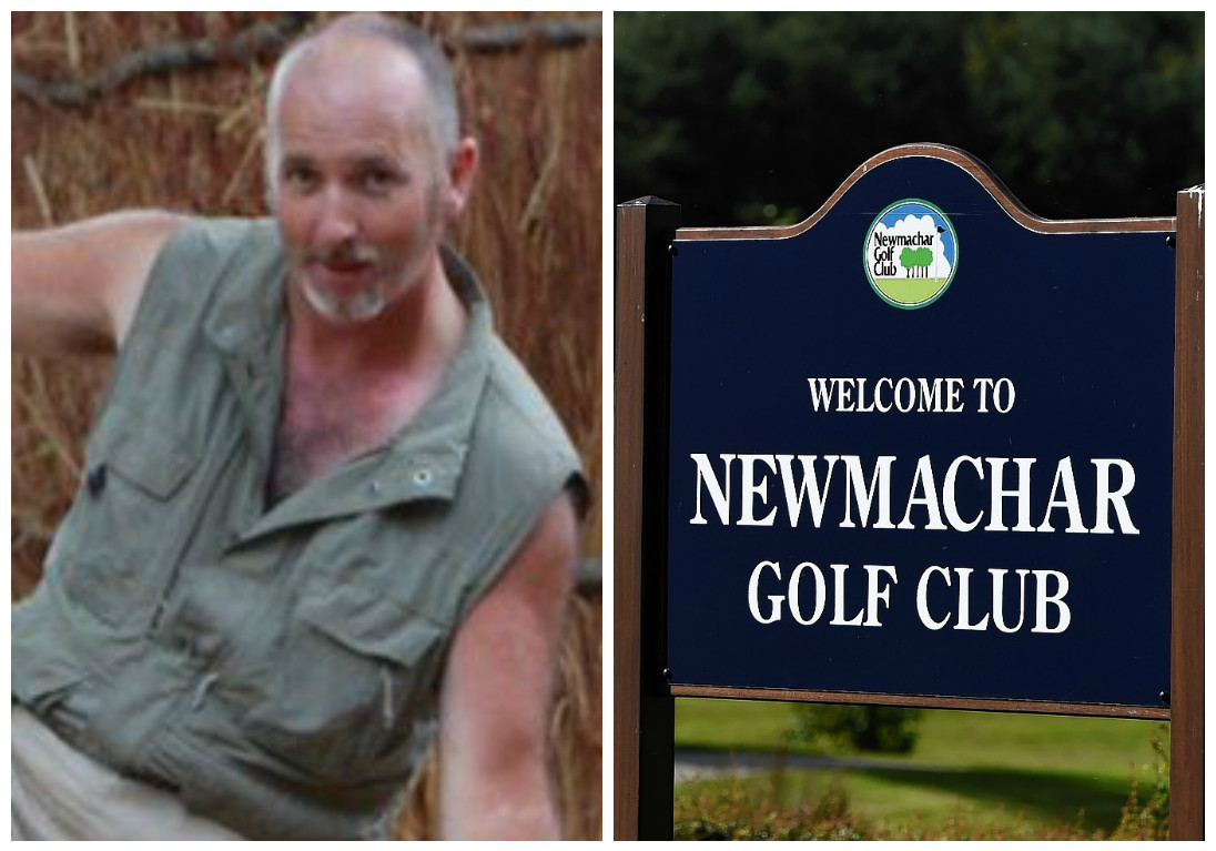 Peter Thomson had been captain at Newmachar Golf Club