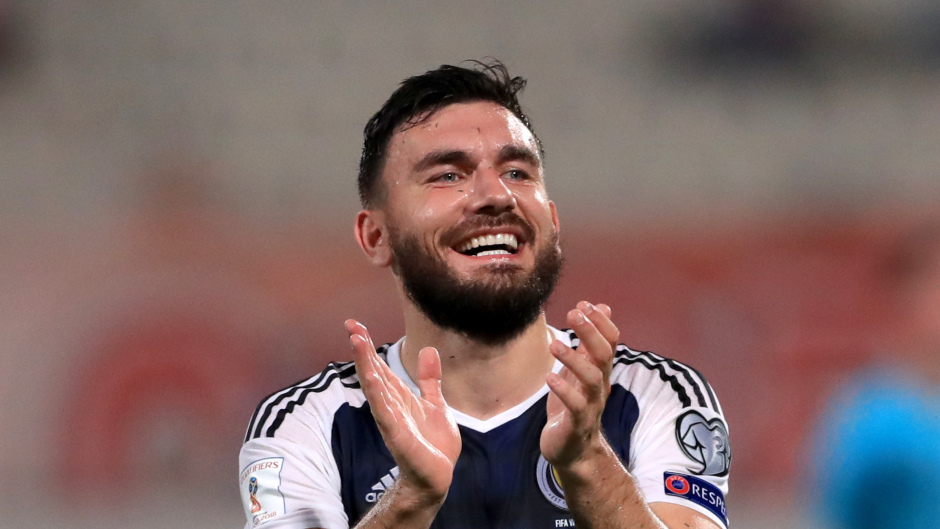 Robert Snodgrass is optimistic ahead of facing England this weekend.