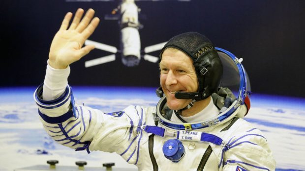 Tim Peake was launched into space on December 15, 2015