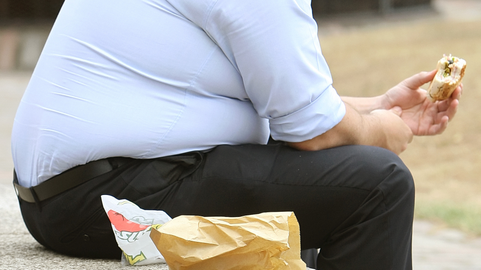 KICK THE HABIT: Obesity is a lead cause of increases in ill health, and a poor diet is the third largest cause of death worldwide.