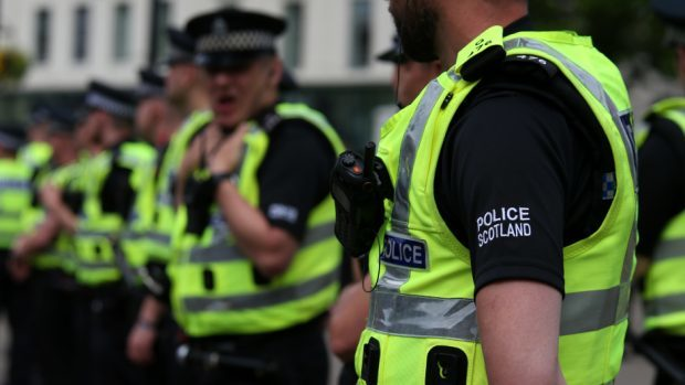 The incident occurred at an Aberdeen secondary school