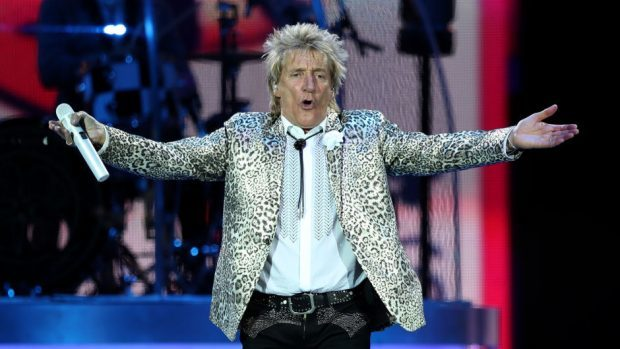 Rod Stewart will play an outdoor stage at the AECC next summer.