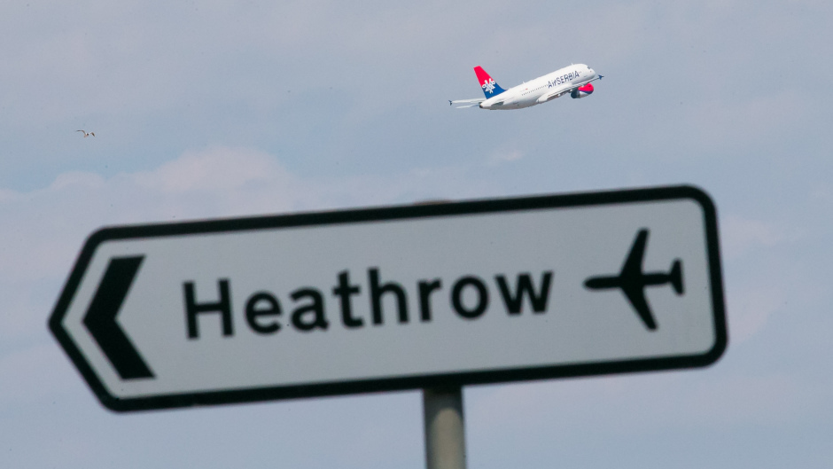 A decision on airport expansion in the south-east is due next week.