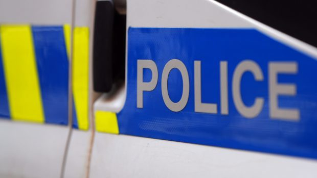 Police confirmed the A82 is partially blocked